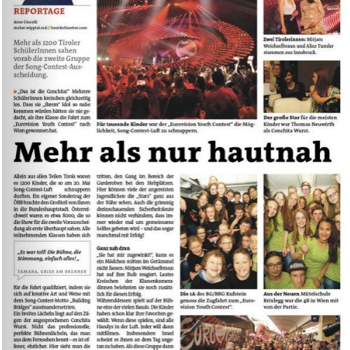 Youth Song Contest Wien 2015
